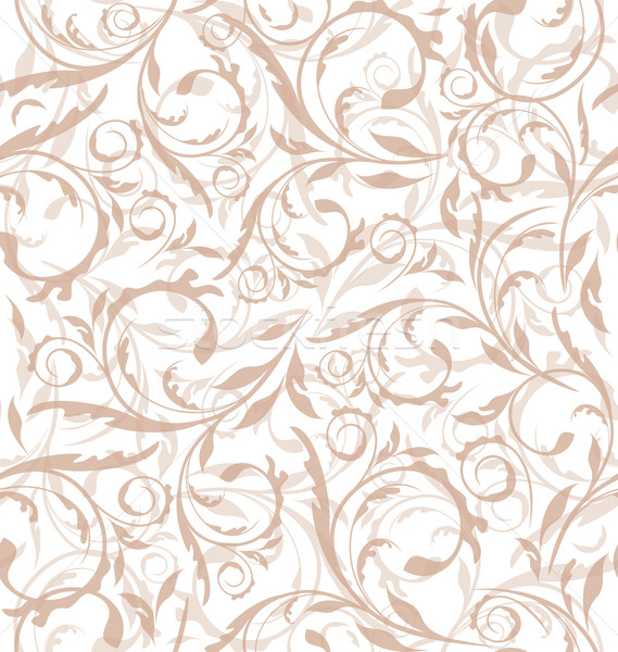 Excellent seamless floral background, pattern for continuous rep Stock photo © smeagorl