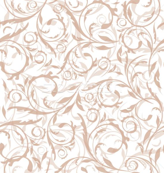 Ottimo senza soluzione di continuità floreale pattern illustrazione texture Foto d'archivio © smeagorl