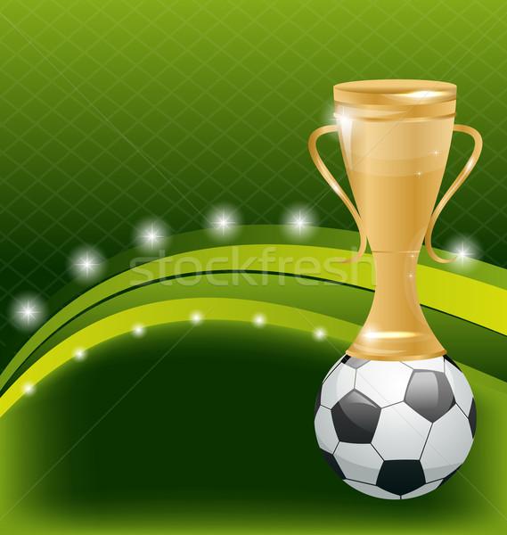 Открытка футбольная команда
