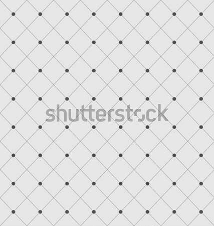 Seamless Geometric Texture with Rhombus and Dots Stock photo © smeagorl