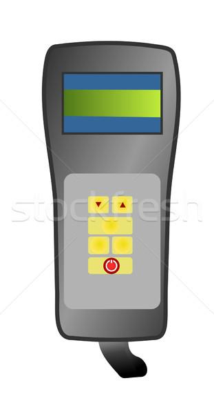 Illustration médicaux appareil ordinateur suivre médecine Photo stock © smeagorl