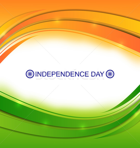 Colorido ondulado indiano ilustração dia fundo Foto stock © smeagorl