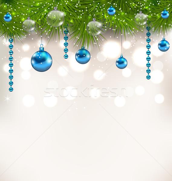 Noel cam örnek ağaç Stok fotoğraf © smeagorl