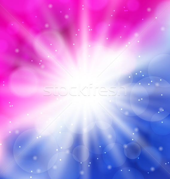Abstract background with lens flare Stock photo © smeagorl