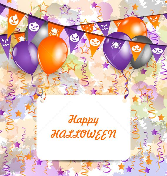 Halloween Decoration Stock photo © smeagorl