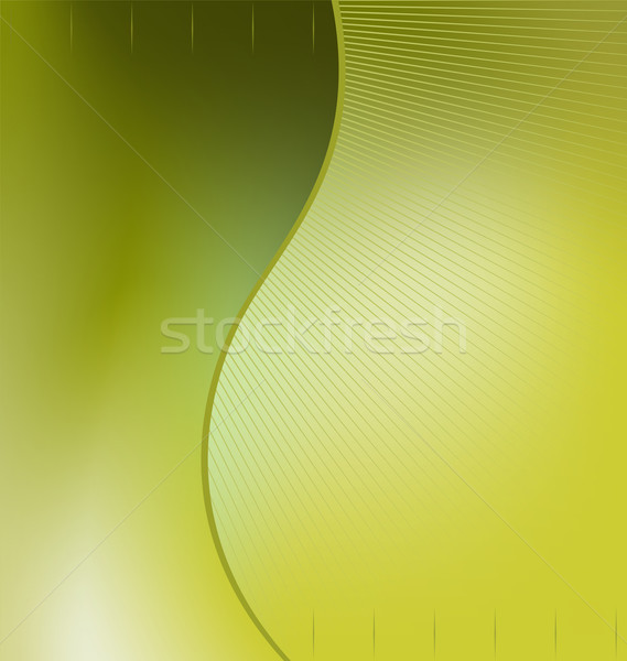 Illustration the green abstract background for design bussines c Stock photo © smeagorl