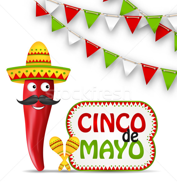 Cinco De Mayo Holiday Background Stock photo © smeagorl