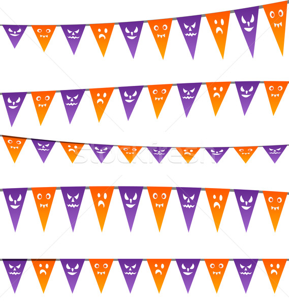 Halloween hanging streamers flags for your party Stock photo © smeagorl