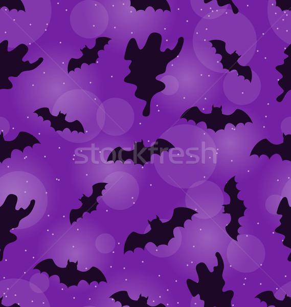 Halloween Seamless Pattern Stock photo © smeagorl