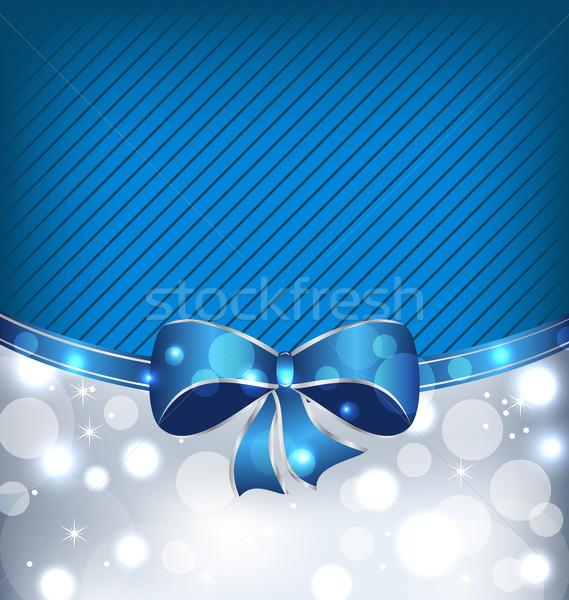 Christmas glowing background, holiday design elements Stock photo © smeagorl