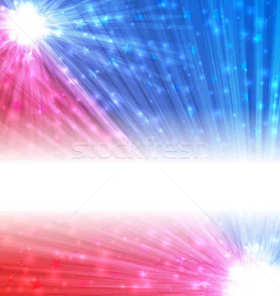 Abstract Background for National Holidays Stock photo © smeagorl