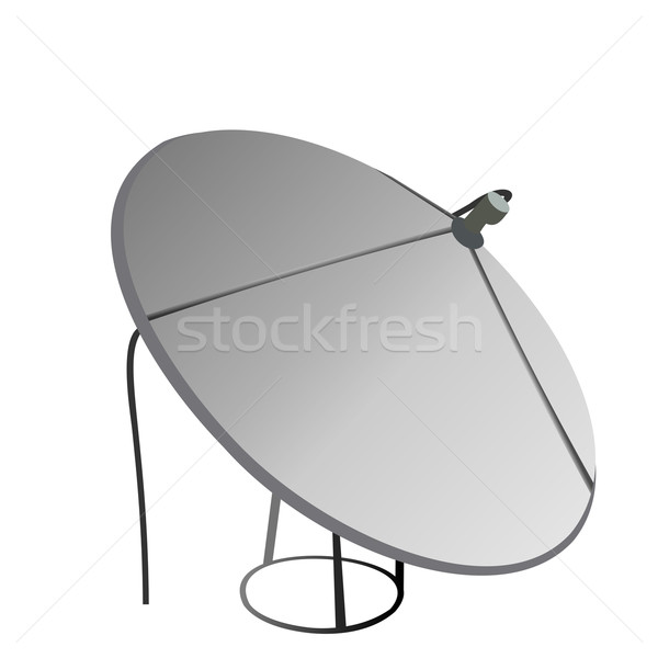 Satellite antenna Stock photo © smeagorl
