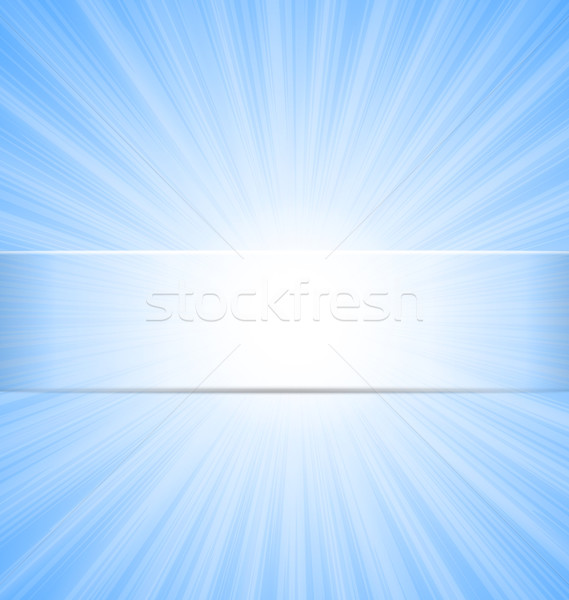 Abstract Blue Sky Sunbeam Background Stock photo © smeagorl