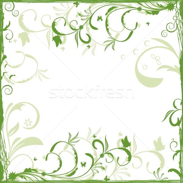 Ontwerp kaart vector natuur verf Stockfoto © smeagorl