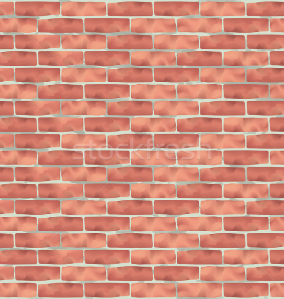 Brown brick wall, grunge texture background Stock photo © smeagorl