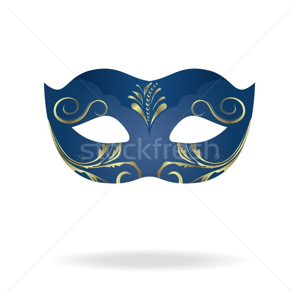 Illustration of realistic carnival or theater mask Stock photo © smeagorl