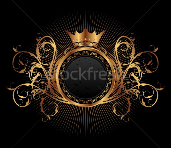 gold vintage for design packing Stock photo © smeagorl