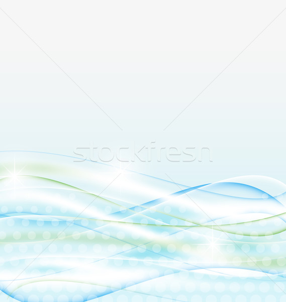 Abstract water background, wawy design Stock photo © smeagorl