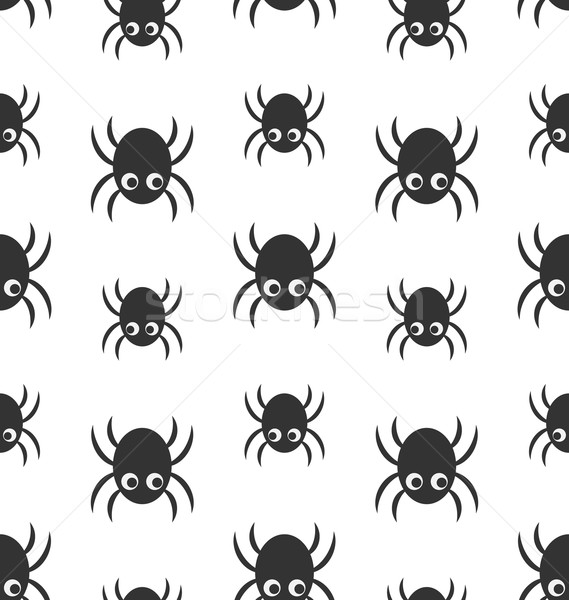 Simple ilustración halloween wallpaper Foto stock © smeagorl
