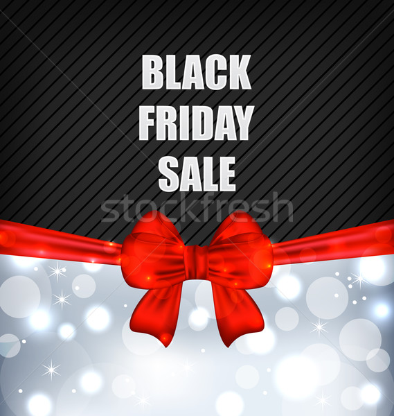 Werbung black friday Umsatz Illustration abstrakten Design Stock foto © smeagorl
