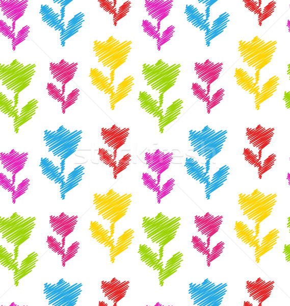 Fleur texture naturelles modèle textiles Photo stock © smeagorl