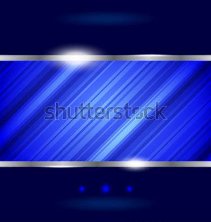 Techno absztrakt csíkos textúra illusztráció terv Stock fotó © smeagorl