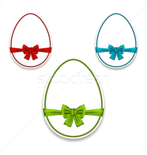 Пасху набор яйца упаковка красочный Луки Сток-фото © smeagorl