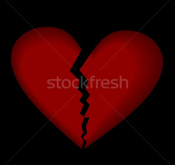 Broken heart Stock photo © smeagorl