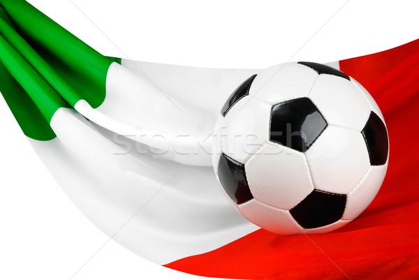 Italy loves football Stock photo © Smileus