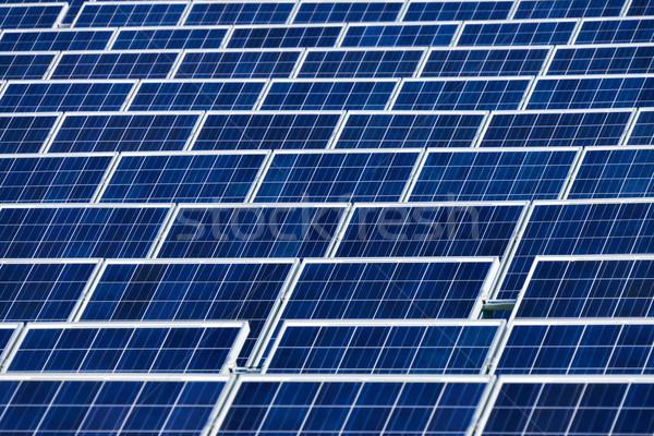 Solar power plant Stock photo © Smileus