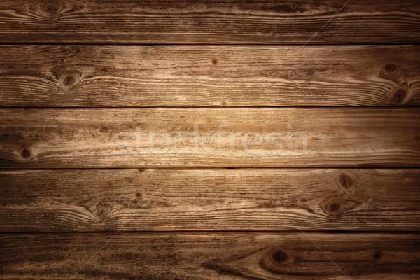 Rustic wood planks background Stock photo © Smileus