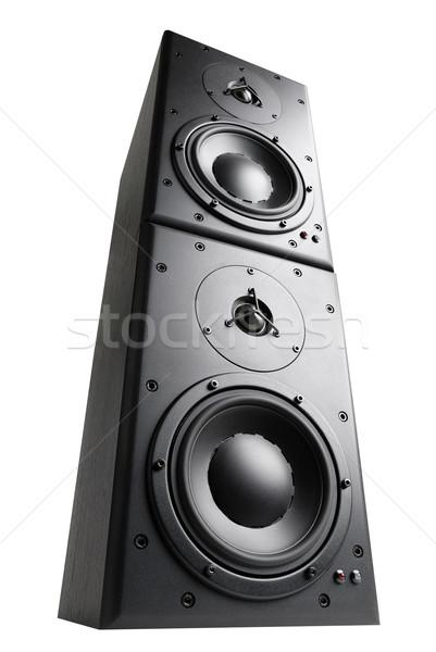 Towering loudspeakers Stock photo © Smileus