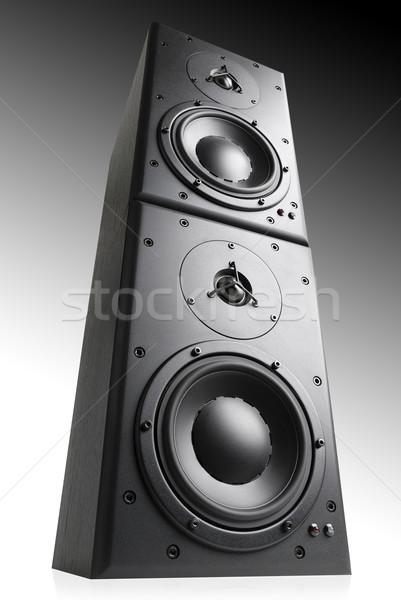Stock fotó: Modern · fekete · felső · egyéb · stúdiófelvétel · gradiens