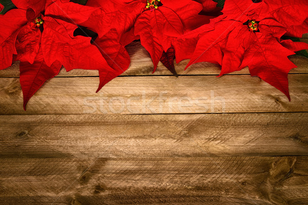 Wood background for Christmas Stock photo © Smileus