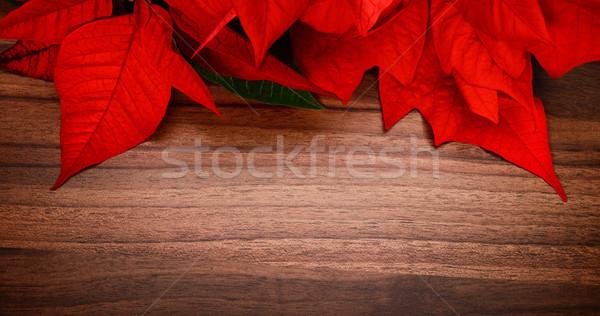 Drewna christmas powierzchnia przyjemny kolory nice Zdjęcia stock © Smileus