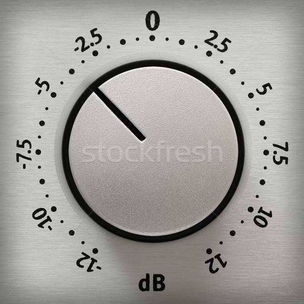 Volume knob close-up Stock photo © Smileus