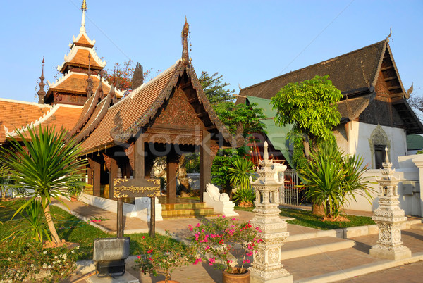 Buddhist temple in Thailand Stock photo © Smileus