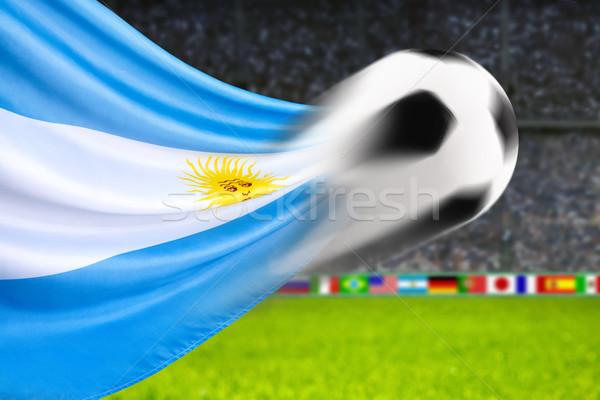 Football Argentina Stock photo © Smileus