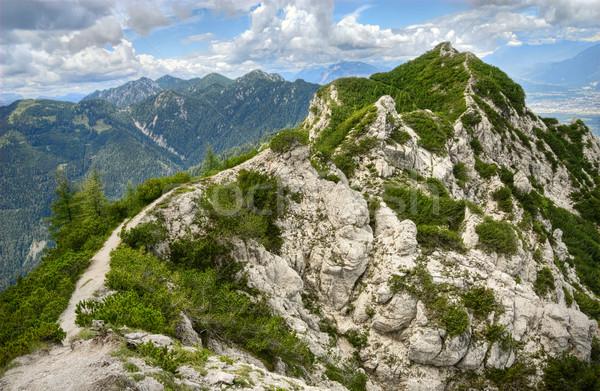 Turystyka szlak wąski górskich Zdjęcia stock © Smileus