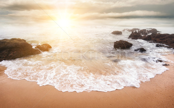 Glorious sunrise over the sea Stock photo © Smileus