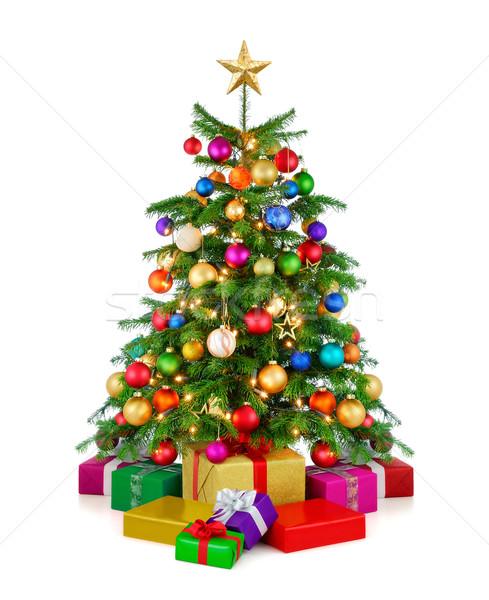 рождественская елка радостный красочный Сток-фото © Smileus