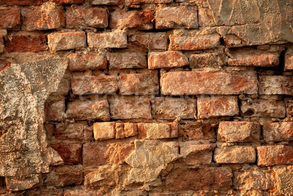Rustic vintage brick wall Stock photo © Smileus