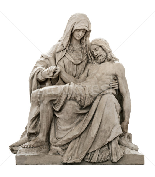 Statue of Mary mourning for Jesus Christ Stock photo © Smileus