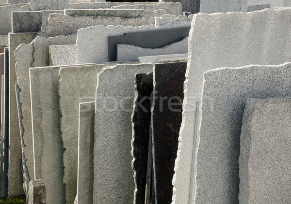 Naturalnych kamień rząd budynku rock sprzedaży Zdjęcia stock © Smileus