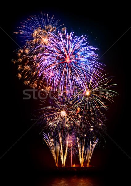 Marvelous fireworks display Stock photo © Smileus