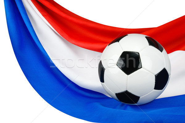 Holland voetbal voetbal nederlands vlag opknoping Stockfoto © Smileus