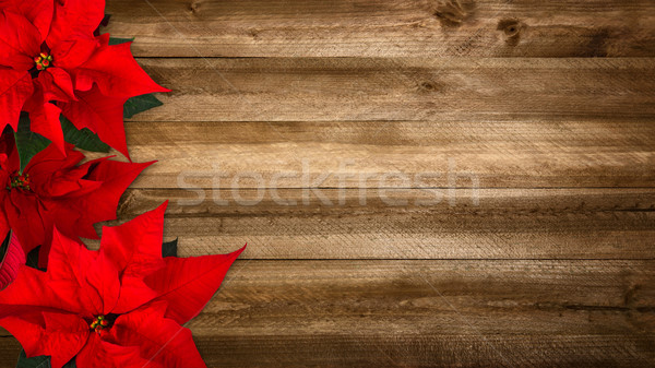 Wood background for Christmas Stock photo © Smileus