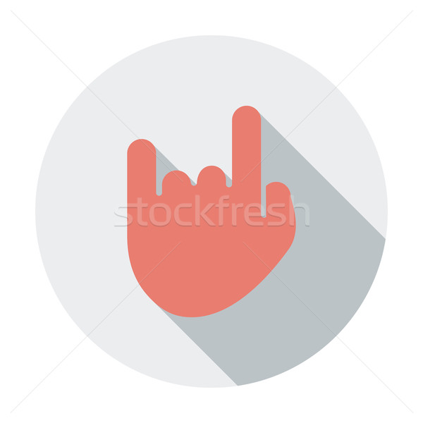 Rock and roll sign. Stock photo © smoki