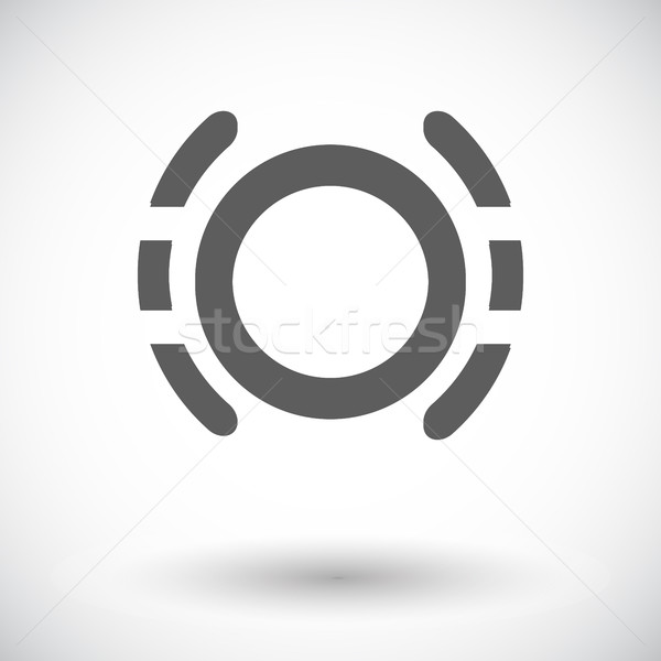 Problemi freno fluido icona bianco design Foto d'archivio © smoki