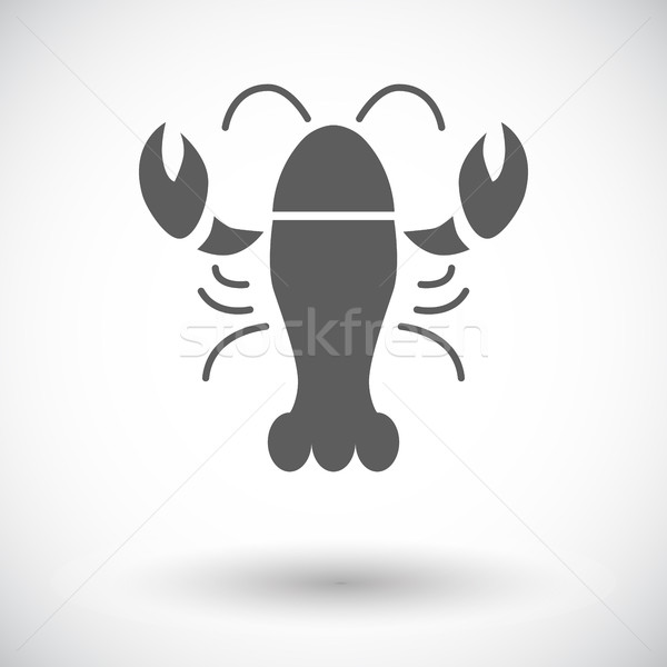 омаров икона белый природы морем ресторан Сток-фото © smoki